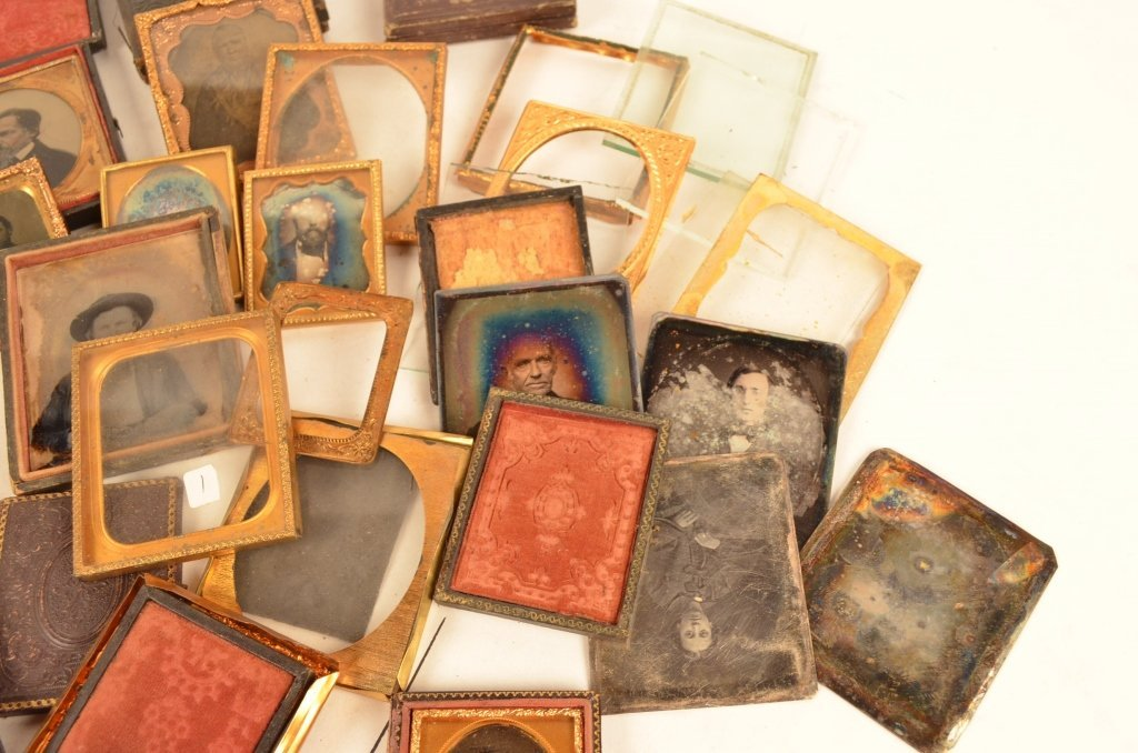 Daguerreotype Cases Parts and Pieces - 4