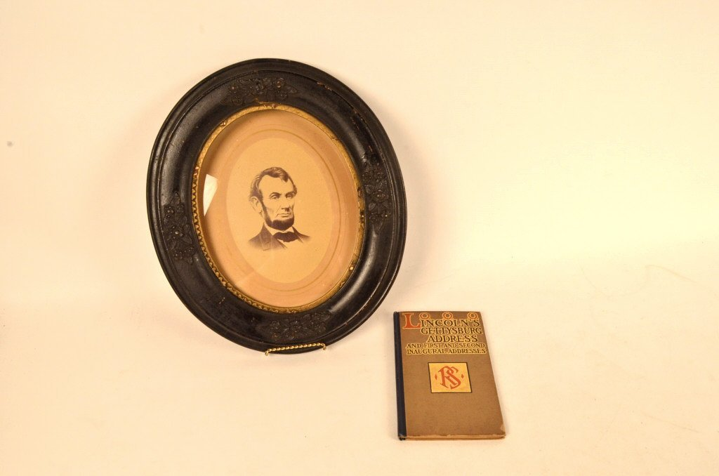 Abraham Lincoln Historical Photo & Book