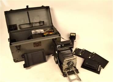 Graflex Graphic Camera, Film & Roll Holder