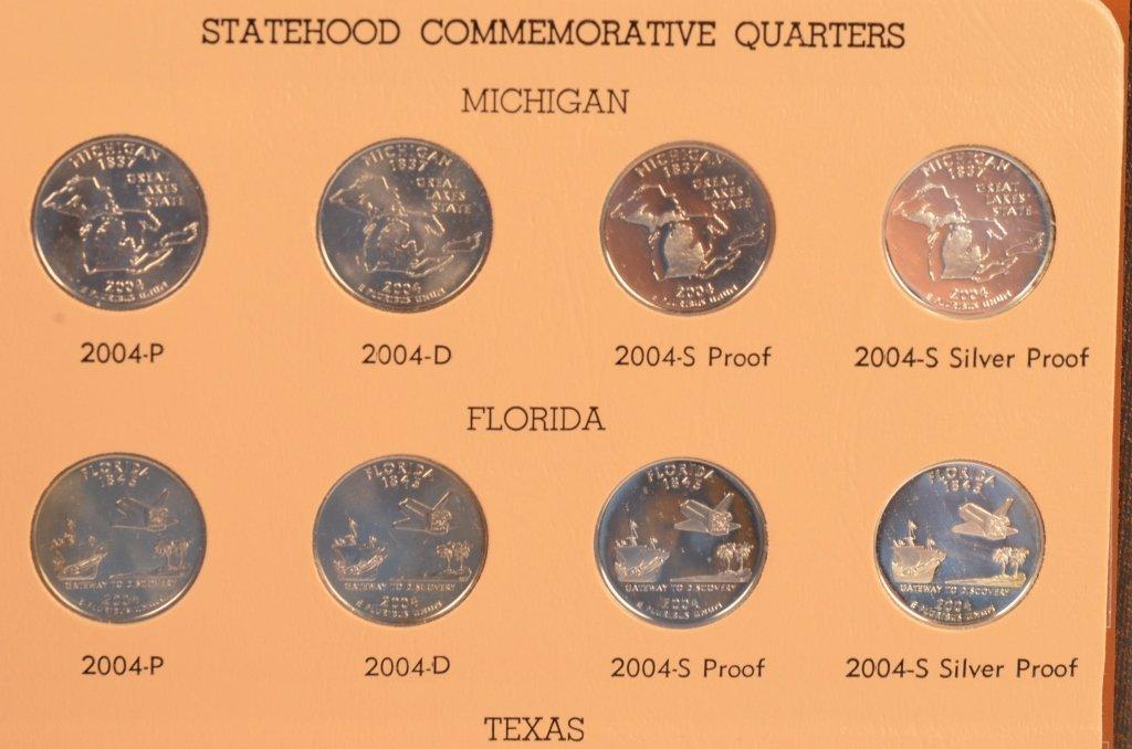 Washington Quarters Statehood Commemorative 04-08