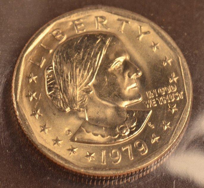 (16) Susan B. Anthony Dollars