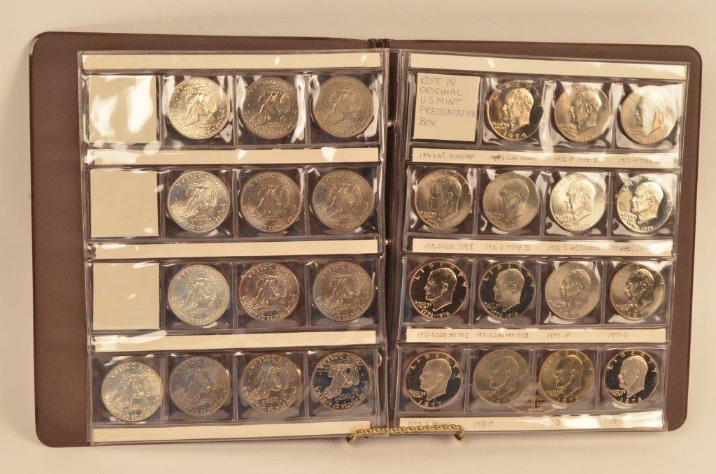 (28) Eisenhower Coins 1971-1978