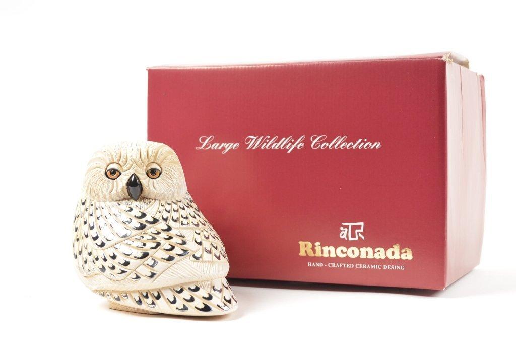 Artesania Rinconada Collectible Owl Figurine RETIRED