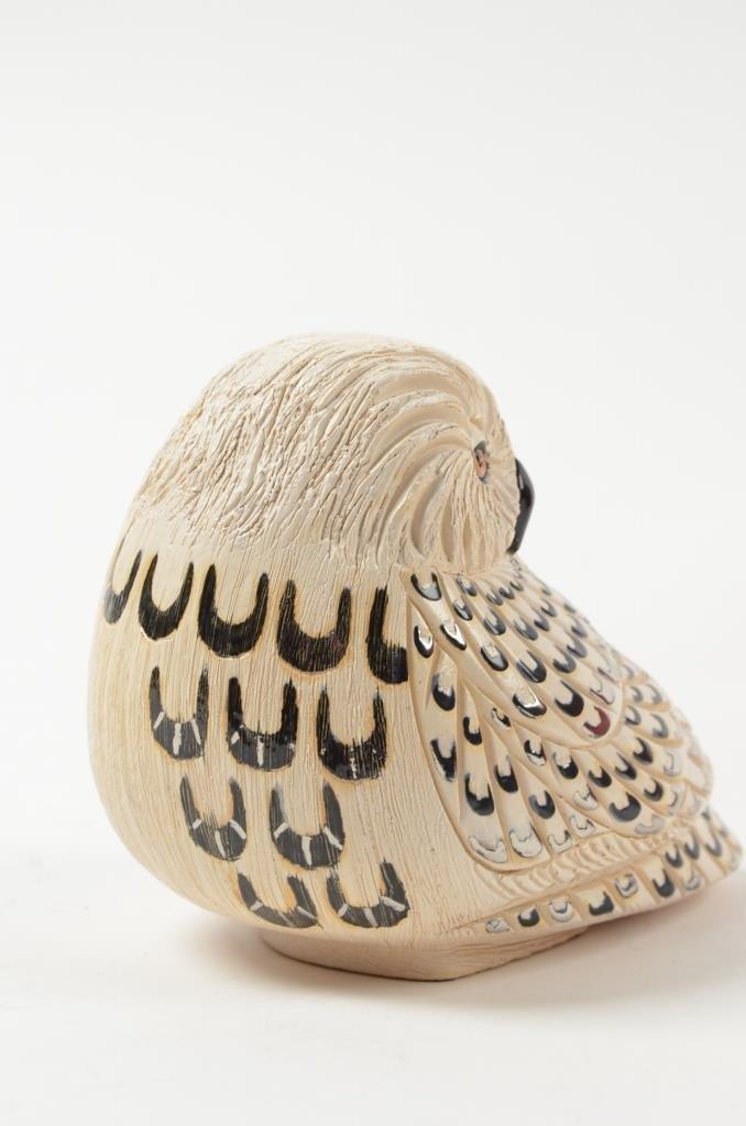 Artesania Rinconada Collectible Owl Figurine RETIRED - 3