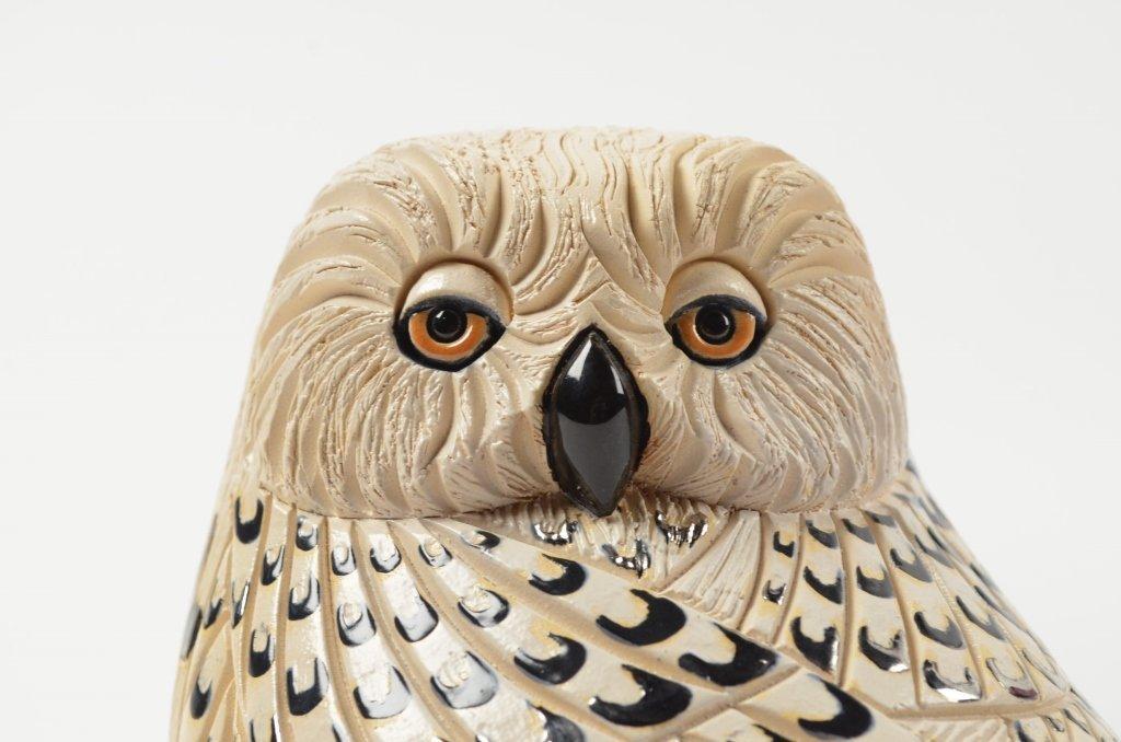 Artesania Rinconada Collectible Owl Figurine RETIRED - 5