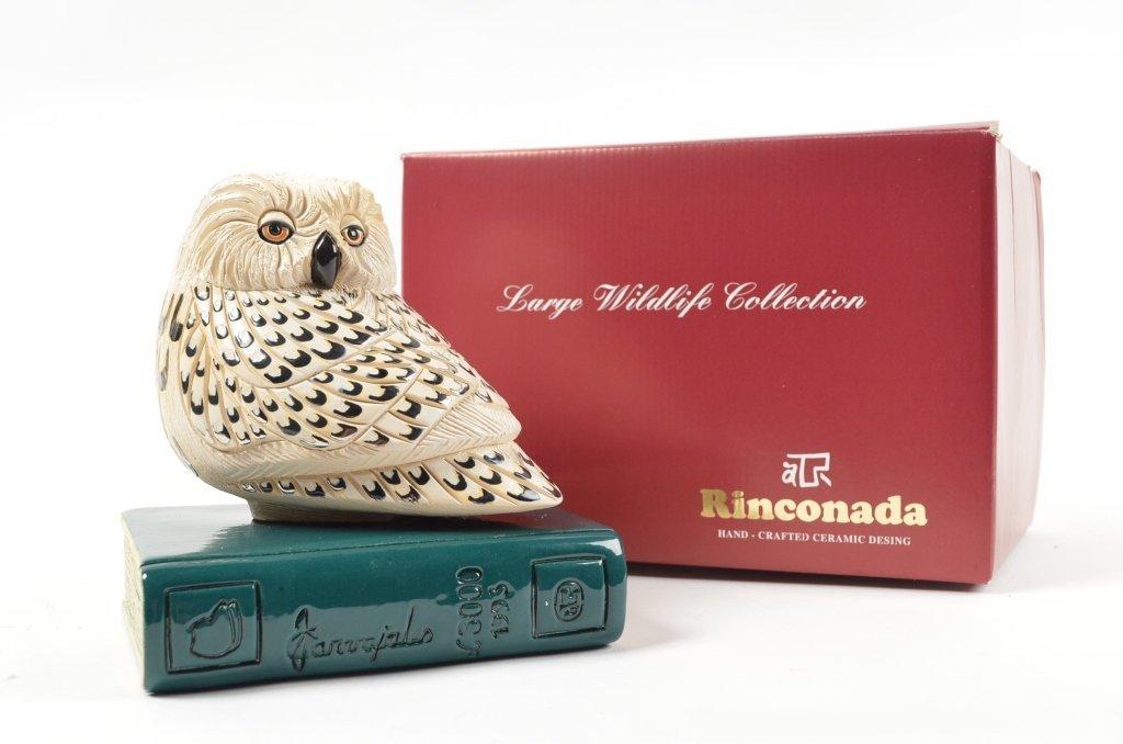 Artesania Rinconada Collectible Owl Figurine RETIRED - 7
