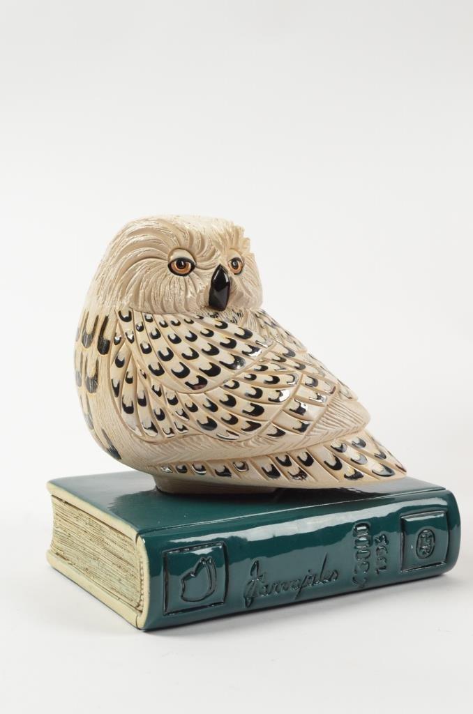 Artesania Rinconada Collectible Owl Figurine RETIRED - 8