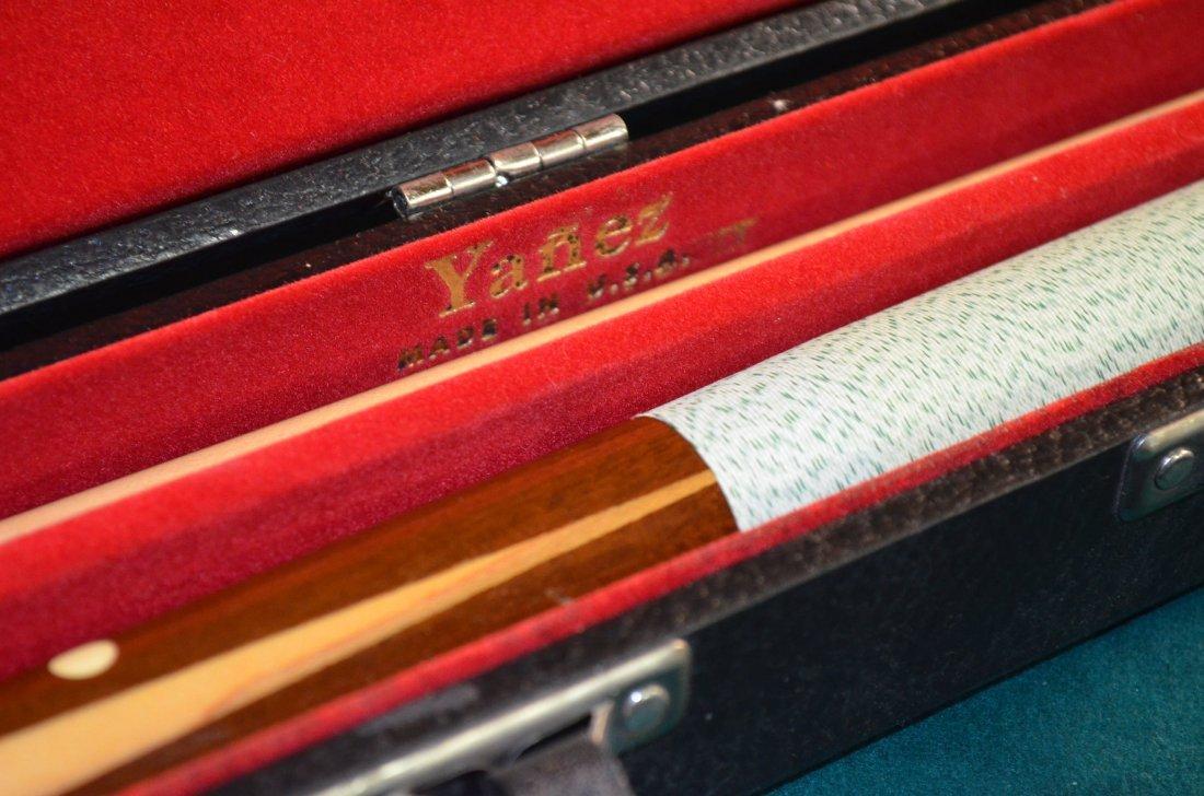 Gandy Mayfair Oak Three Slate Pool Table W/ Accessories - 6
