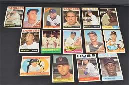 Mantle, Maris & Berra 60's Baseball Cards & Assort