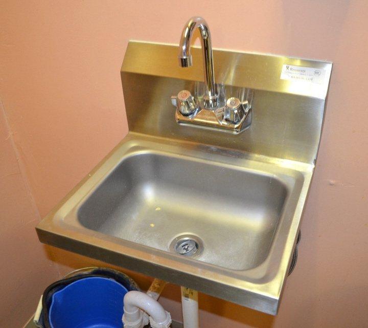 BKR Stainless Steel Wall Mount Sink
