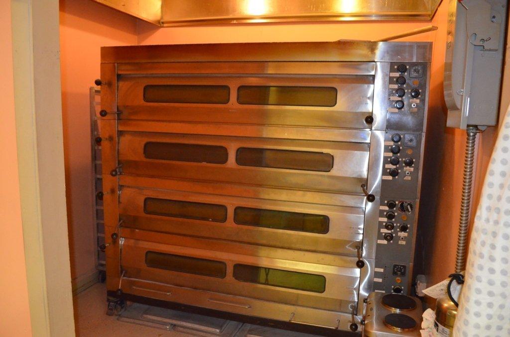 SVEBA Commercial  4 Deck Bakery/ Pizza Oven
