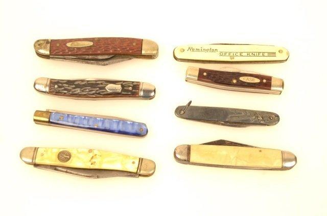 8 Mens Collectible Pocket Knives