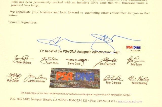 *PSA DNA Babe Ruth & Lou Gehrig Signed Baseball - 4