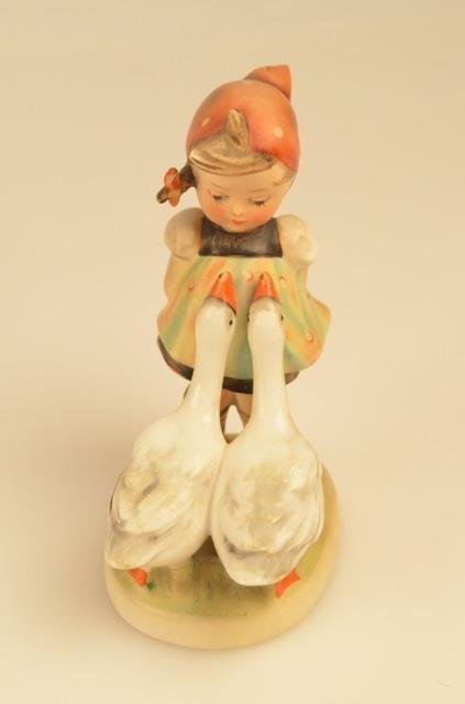(3) Goebel Hummel Figurines Full Bee Markings - 5