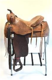 *Tex Tan Western Horse Saddle Sheepskin Lining
