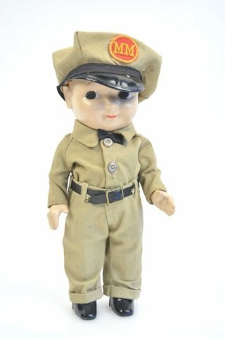 Minneapolis Moline Advertising Buddy Lee Doll