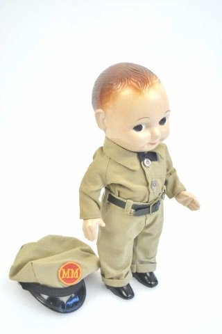 Minneapolis Moline Advertising Buddy Lee Doll - 3
