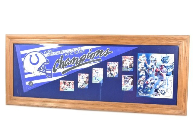 *1999 Colts AFC East Champions Collectibles
