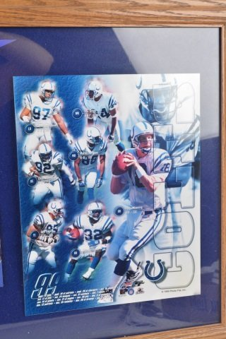 *1999 Colts AFC East Champions Collectibles - 2