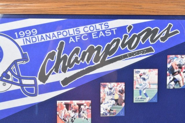 *1999 Colts AFC East Champions Collectibles - 3