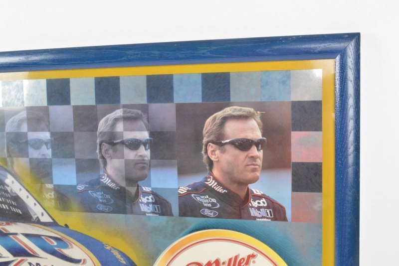 *Rusty Wallace Miller Lite Beer Advertising Sign - 5