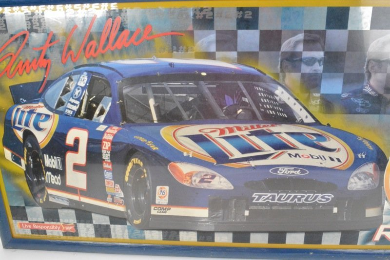 *Rusty Wallace Miller Lite Beer Advertising Sign - 6