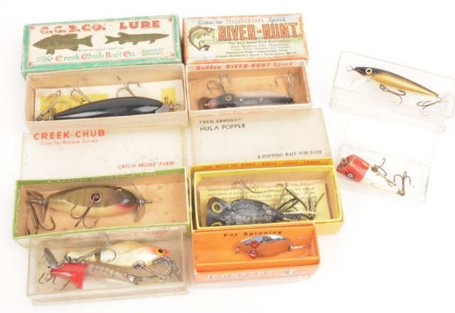 Assorted Fishing Lures