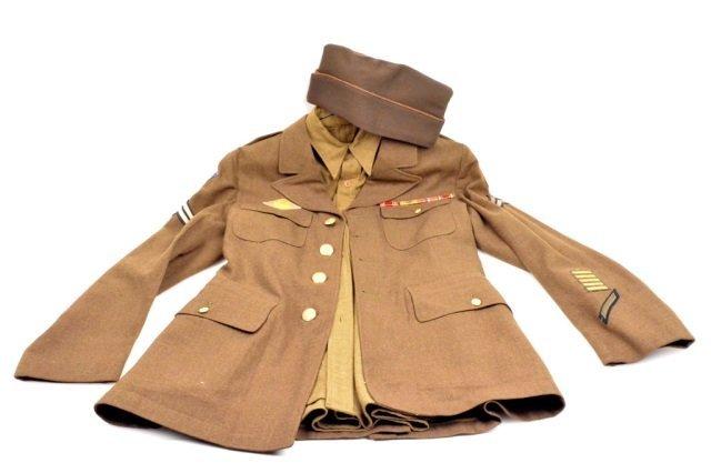 Army Jacket, Under Shirt & Hat