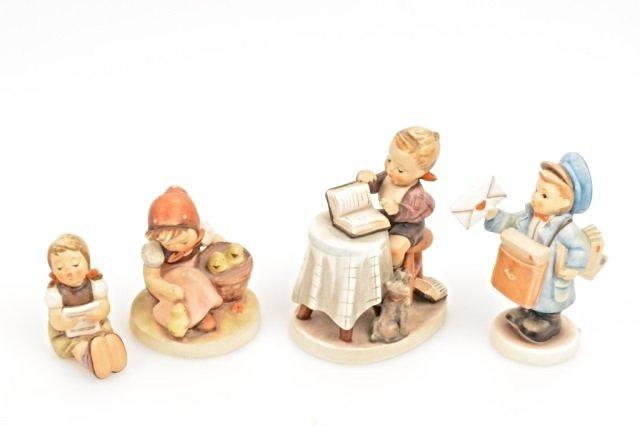 (4) Geobel Hummel Figurines