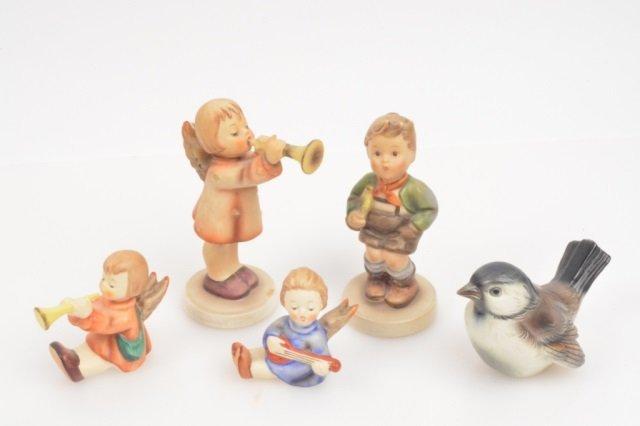 (5) Goebel Hummel Figurines