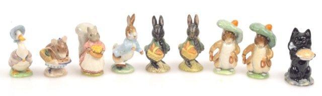 (9) Beatrix Potter Beswick Figurines