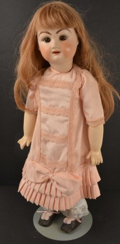 *Full Body Bisque Socket Head Doll