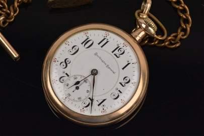 Burlington Special 19 Jewel Men's Pocket Watch