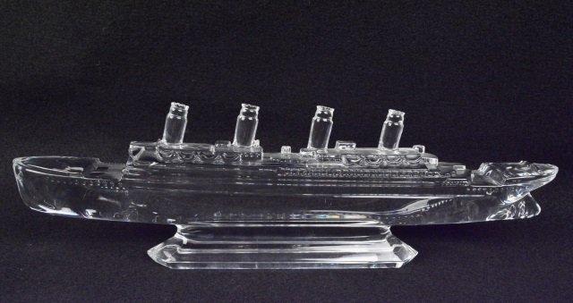 *Waterford Crystal Titanic Ship