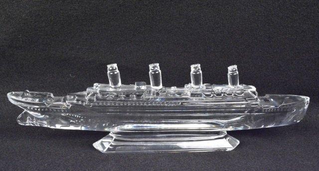 *Waterford Crystal Titanic Ship - 2