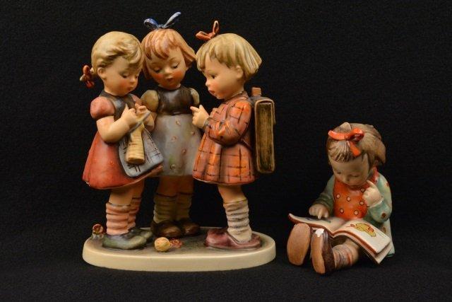 *(2) Hummel Figurines