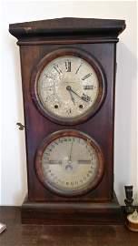 *1800's Seth Thomas Antique Calendar Clock WORKS!