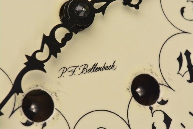 *P.F Bollenbach Regulator Wall Clock W/ Key - 6