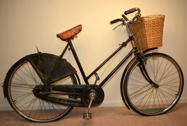 Vintage Prewar BSA Bicycle W/ Original Add-Ons - 8