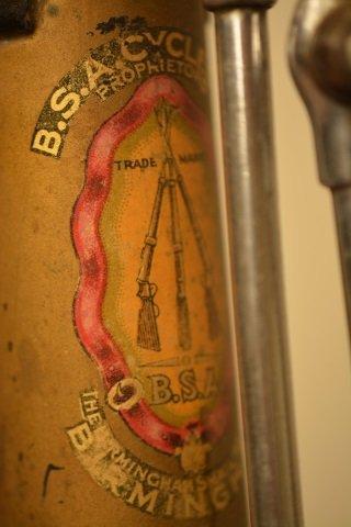 Vintage Prewar BSA Bicycle W/ Original Add-Ons - 9