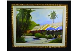 Sheila Cotton SLL Contemporary Realist Beach Resort