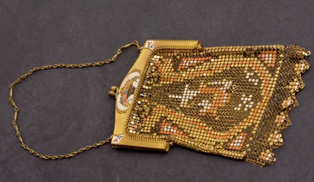 Vintage Whiting & Davis Mesh Evening Bag