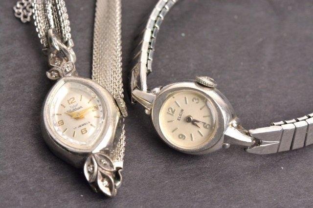 *Waltham 17 Jewel Bracelet Watch & Elgin