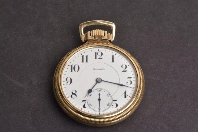 E. Howard 23 Jewel Mens Pocket Watch