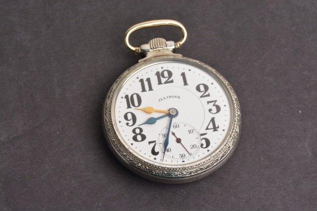 Sixty Hour Bunn Special 21 Jewels Pocket Watch