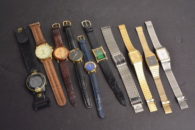 *(10) Men's Brand Name Watches