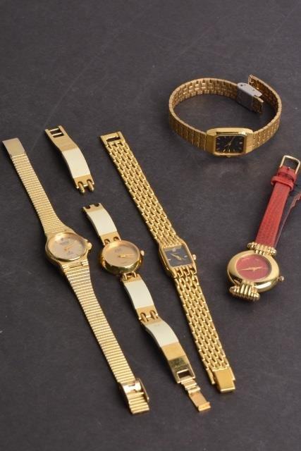 *(5) Ladies Brand Name Watches