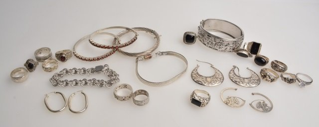 *Lot of Sterling Ladies Jewelry