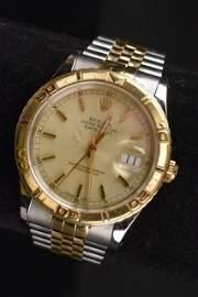 *Rolex Thunderbird Men's Datejust Wrist Watch