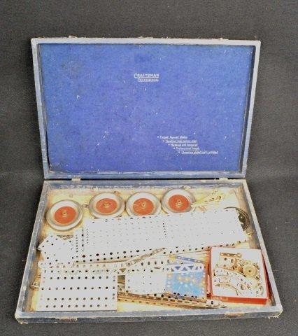 *Vintage Children's Erector Type Building Set